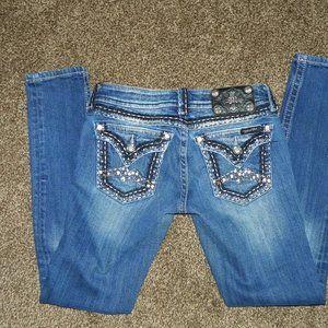 Miss Me Jeans 26 Skinny